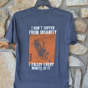 Insanity - Charcoal Back
