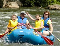 Pre-back to School Family Fun in Ohiopyle!