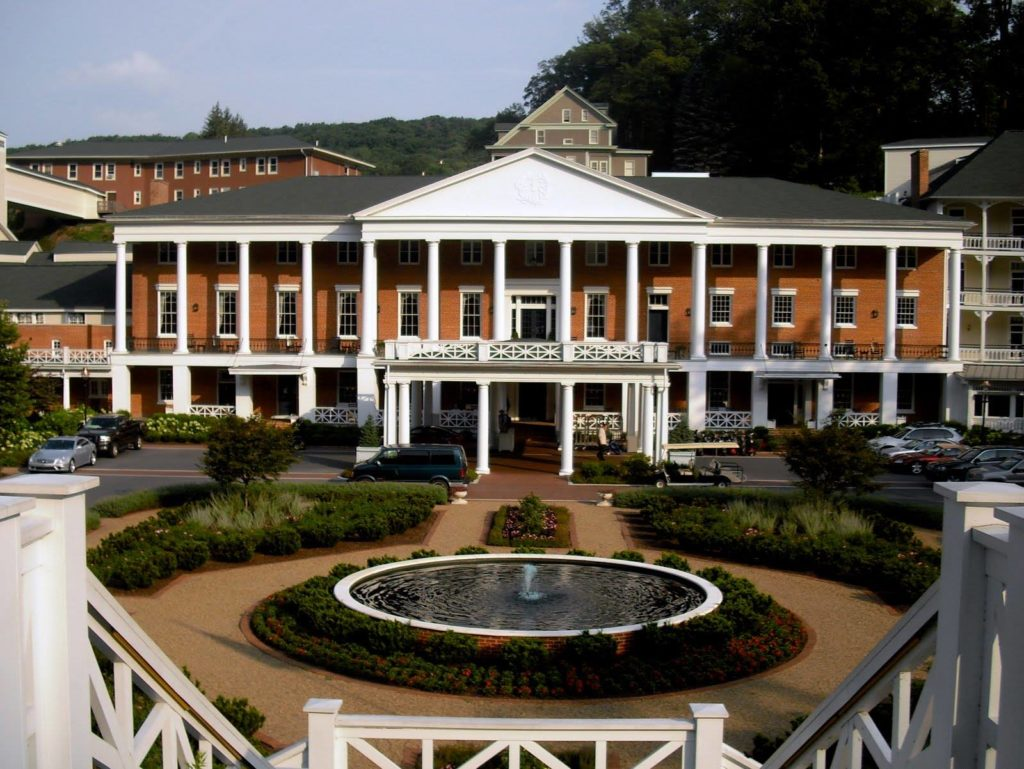 Omni Bedford Springs Resort Exterior