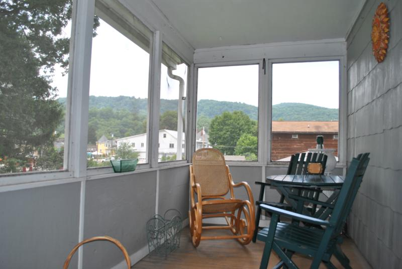 MacKenzie Guest House Porch