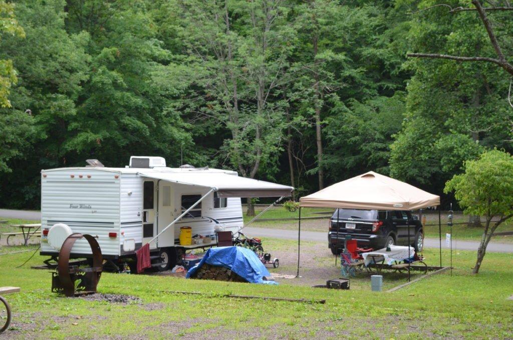 Creekside Loop campsite