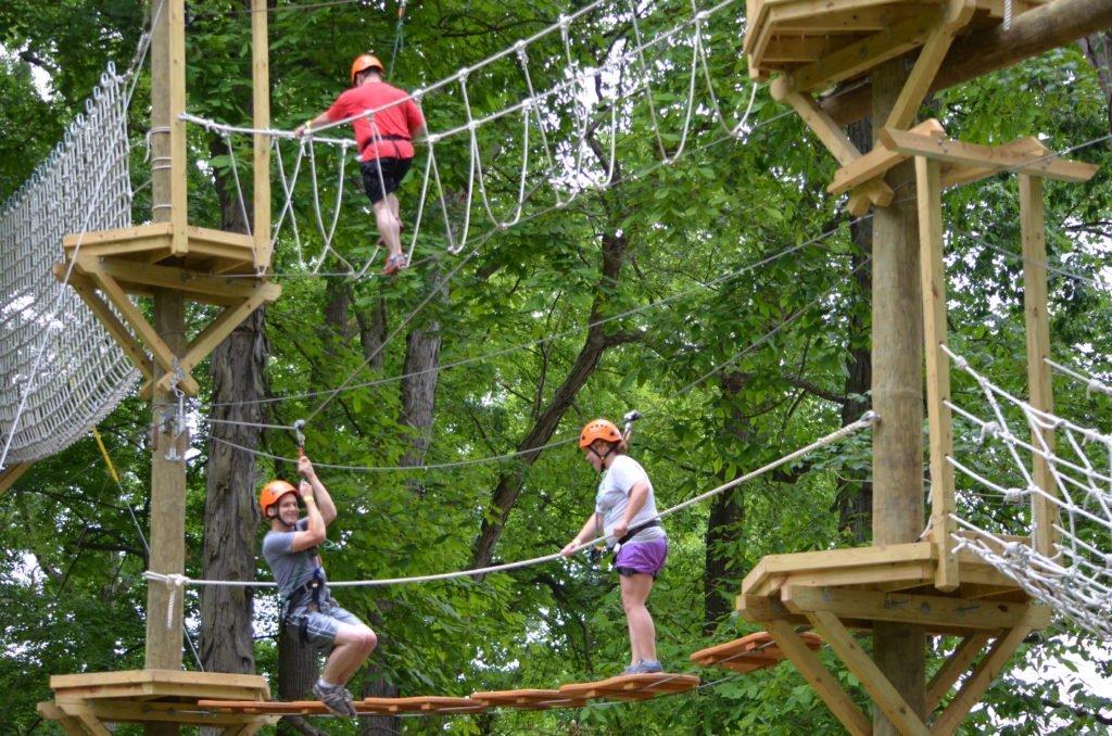 Zip-Line Adventure Park